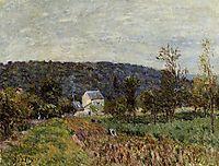 An Autumn Evening near Paris, 1879, sisley