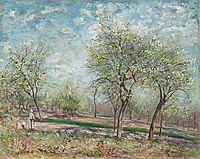 Apple Trees in Bloom, 1880, sisley