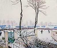 Approach to the Railway Station, 1888, sisley
