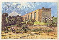 The Aqueduct at Marly, 1874, sisley
