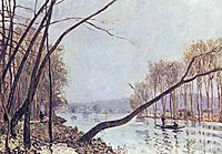 Bank, in the autumn, 1879, sisley