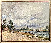 Banks of the Seine, 1879, sisley