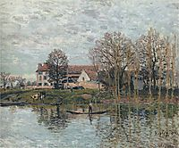 Banks of the Seine at Port Marly, 1875, sisley