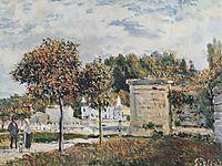 Bassin de Marly, 1875, sisley