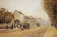 Boulevard Heloise, Argenteuil, 1872, sisley