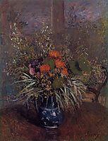 Bouquet of Flowers, 1875, sisley