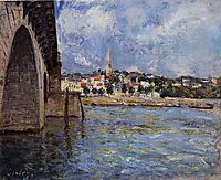 The Bridge at Saint Cloud, 1877, sisley