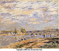 Bridge at Serves, c.1877, sisley
