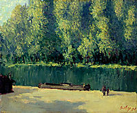 By the Loing, sisley
