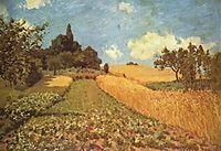 Cornfield, 1873, sisley