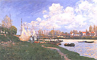 Drying Nets, 1872, sisley