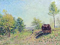 The Edge of the Forest, 1886, sisley