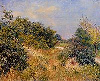 Edge of Fountainbleau Forest June Morning, 1885, sisley
