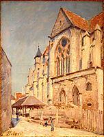 Eglise de Moret, sisley