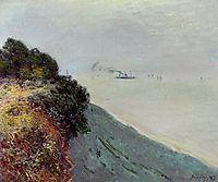 The English Coast, Penarth, 1897, sisley