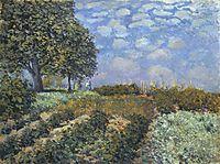 The Fields, 1874, sisley
