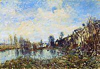 Flooded Field, 1879, sisley