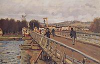 Footbridge at Argenteuil, 1872, sisley