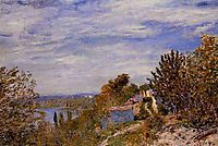 Footpath in the Gardens at By, c.1881, sisley