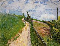 The Hill Path, Ville d Avray, 1879, sisley