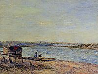 The Hills of Veneux, Seen from Saint Mammes, 1884, sisley