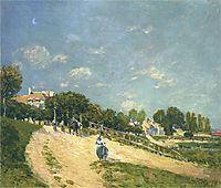 Landscape at Andresy, 1875, sisley