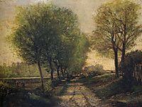 Lane near a Small Town, 1864-65, sisley