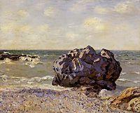 Langland Bay, Storr s Rock, Morning, 1897, sisley