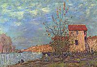 TheLoingatMoret, 1881, sisley