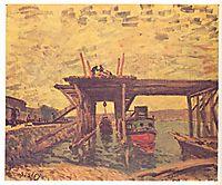 TheLoingatMoret, 1885, sisley
