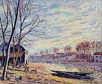 Matrat Cottages, 1889, sisley