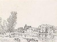 Moret sur Loing, 1892, sisley