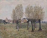 A Normandy Farm, c.1874, sisley