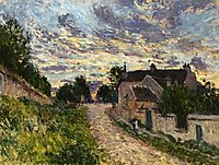 A Path in Louveciennes, 1876, sisley