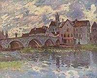 Pont de Moret sur Loing, c.1885, sisley