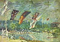Regattas at Molesey, 1874, sisley