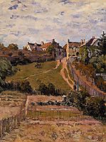 The Rising Path, 1875, sisley
