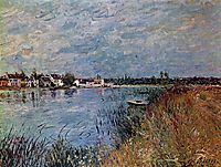 Riverbank at Saint Mammes, 1880, sisley