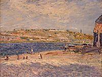Riverbanks at Saint Mammes, 1884, sisley