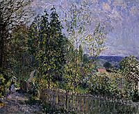 The Road in the Woods, 1879, sisley