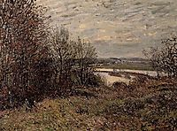 The Roches Courtaut Wood, near By, 1880, sisley