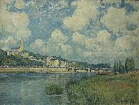 Saint Cloud, 1877, sisley