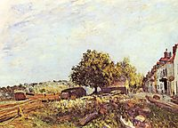 Saint Mammès in Morning, c.1890, sisley