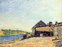 Saint Mammes, 1885, sisley