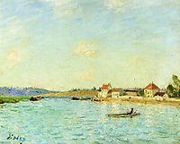 Saint Mammes, c.1885, sisley