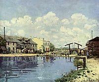 The Saint-Martin Canal, 1872, sisley