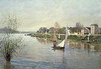 The Seine at Argenteuil, 1872, sisley