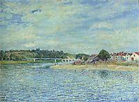 The Seine at Saint Mammes, 1888, sisley