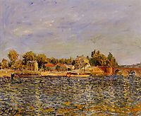 Sevres Bridge, 1877, sisley