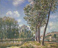 Spring Sunshine on the Loing, 1892, sisley